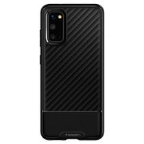 Spigen Core Armor Backcover Schwarz für das Samsung Galaxy S20