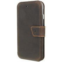 Valenta Impact Wallet Booktype Braun iPhone SE (2020) / 8 / 7 / 6(s)