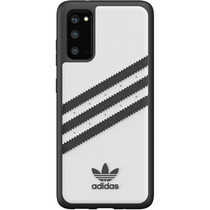 adidas Originals Moulded Case Samba Weiß / Schwarz für das Samsung Galaxy S20