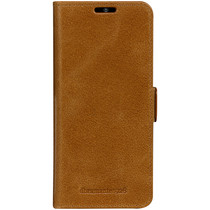 dbramante1928 Copenhagen Book Case Braun für das Samsung Galaxy S20