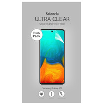 Selencia Duo Pack Screenprotector für das Samsung Galaxy A71