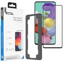 Accezz Glass Screenprotector + Applicator Samsung Galaxy A51