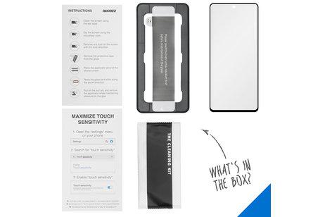 Accezz Glass Screenprotector + Applicator für das Samsung Galaxy A51