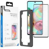 Accezz Glass Screenprotector + Applicator Samsung Galaxy A71