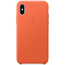 Apple Leder-Case Sunset für das iPhone Xs / X