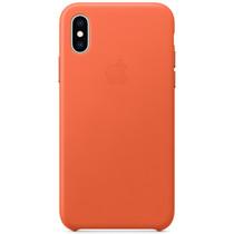 Apple Leder-Case Sunset für das iPhone Xs / X