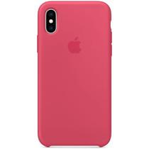 Apple Silikon-Case Hibiscus für das iPhone Xs / X