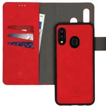 iMoshion Entfernbarer 2-1 Luxus Booktype Hülle Rot Galaxy A20e