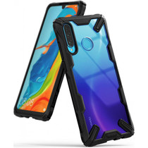 Ringke Fusion X Case Schwarz für das Huawei P30 Lite