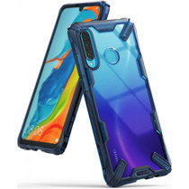 Ringke Fusion X Case Blau für das Huawei P30 Lite