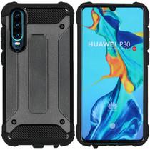 iMoshion Rugged Xtreme Case Schwarz für Huawei P30