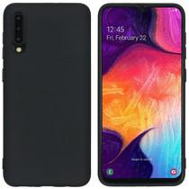 iMoshion Color TPU Hülle Schwarz für Samsung Galaxy A50 / A30s