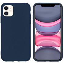 iMoshion Color TPU Hülle Dunkelblau für das iPhone 11