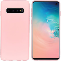 iMoshion Color TPU Hülle Rosa für Samsung Galaxy S10