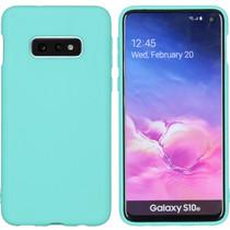 iMoshion Color TPU Hülle Mintgrün für Samsung Galaxy S10e