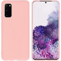 iMoshion Color TPU Hülle Rosa für das Samsung Galaxy S20
