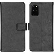 iMoshion Luxuriöse Buchtyp-Hülle Schwarz Samsung Galaxy S20 Plus