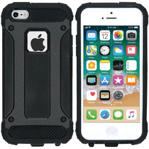 iMoshion Rugged Xtreme Case Schwarz für iPhone SE / 5 / 5s
