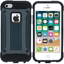 iMoshion Rugged Xtreme Case Dunkelblau für iPhone SE / 5 / 5s