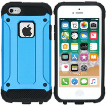 iMoshion Rugged Xtreme Case Hellblau für iPhone SE / 5 / 5s