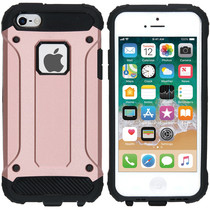 iMoshion Rugged Xtreme Case Roségold für iPhone SE / 5 / 5s