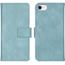 iMoshion Luxus Booktype Hülle Hellblau iPhone SE (2020) / 8 /7 / 6(s)
