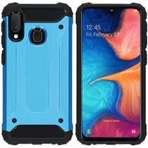iMoshion Rugged Xtreme Case Hellblau für das Samsung Galaxy A20e
