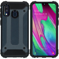 iMoshion Rugged Xtreme Case Dunkelblau für Samsung Galaxy A40