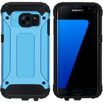 iMoshion Rugged Xtreme Case Hellblau für das Samsung Galaxy S7