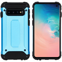 iMoshion Rugged Xtreme Case Hellblau für das Samsung Galaxy S10