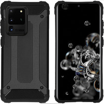 iMoshion Rugged Xtreme Case Schwarz für das Samsung Galaxy S20 Ultra