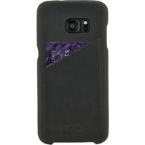 Valenta Backcover Classic Luxe Schwarz für Samsung Galaxy S7 Edge