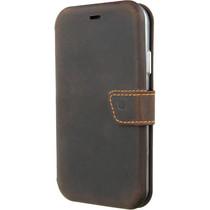 Valenta Impact Wallet Booktype Braun für das iPhone Xr
