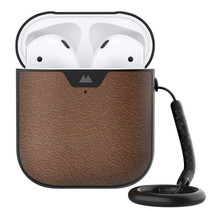 Mous Leather Protective Case für AirPods - Braun