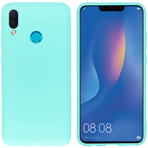 iMoshion Color TPU Hülle Mintgrün für Huawei P Smart (2019)