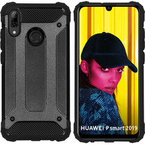 iMoshion Rugged Xtreme Case Schwarz für Huawei P Smart (2019)