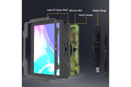 Extreme Case Shoulder Strap für das Samsung Galaxy Tab Active Pro - Grün