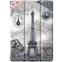 iMoshion Design Trifold Bookcase Lenovo Tab M10 - Paris
