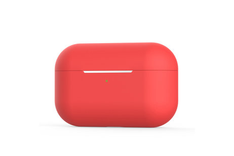 Apple AirPods Pro hülle - iMoshion Silicone Case Rot