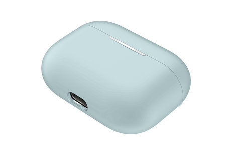 Apple AirPods Pro hülle - iMoshion Silicone Case Hellblau