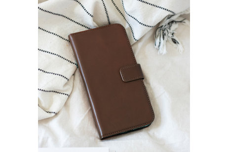 Samsung Galaxy S10 hülle - Selencia Echtleder Booktype Hülle