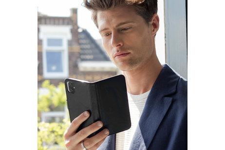 Huawei P30 Lite hülle - Selencia Echtleder Booktype Hülle