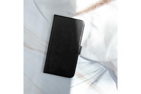 iPhone 11 Pro hülle - Selencia Echtleder Booktype Hülle