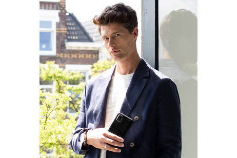 Samsung Galaxy S10e hülle - Selencia Echtleder Booktype Hülle