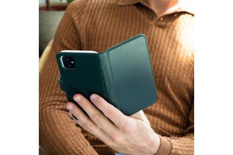 Huawei P Smart (2019) hülle - Selencia Echtleder Booktype Hülle