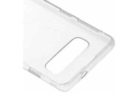 Samsung Galaxy S10 hülle - Gel Case Transparent für