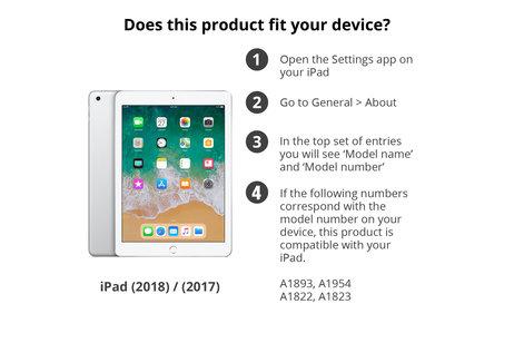 Gecko Covers Easy-Click Cover für das iPad (2018) / (2017)