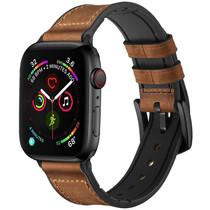 iMoshion Echtes Lederband für das Apple Watch 42/44mm - Braun