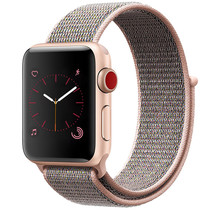 iMoshion Nylon-Armband Apple Watch Serie 1/2/3/4/5 38/40mm - Rose