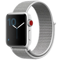 iMoshion Nylon-Armband Apple Watch Serie 1/2/3/4/5 42/44mm - Grau